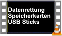 Daten retten von USB Stick und micro SD karte